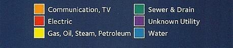 Utility Color Codes